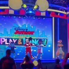practice Moves Below Decor Hidden Mickey Disco Ball Disney's Hollywood Studios_Moment
